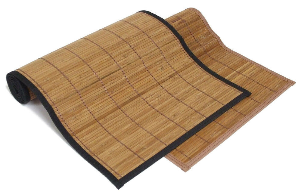 Roman Style Bamboo Schach Mat , Printed Bamboo Blinds Easily Transportation